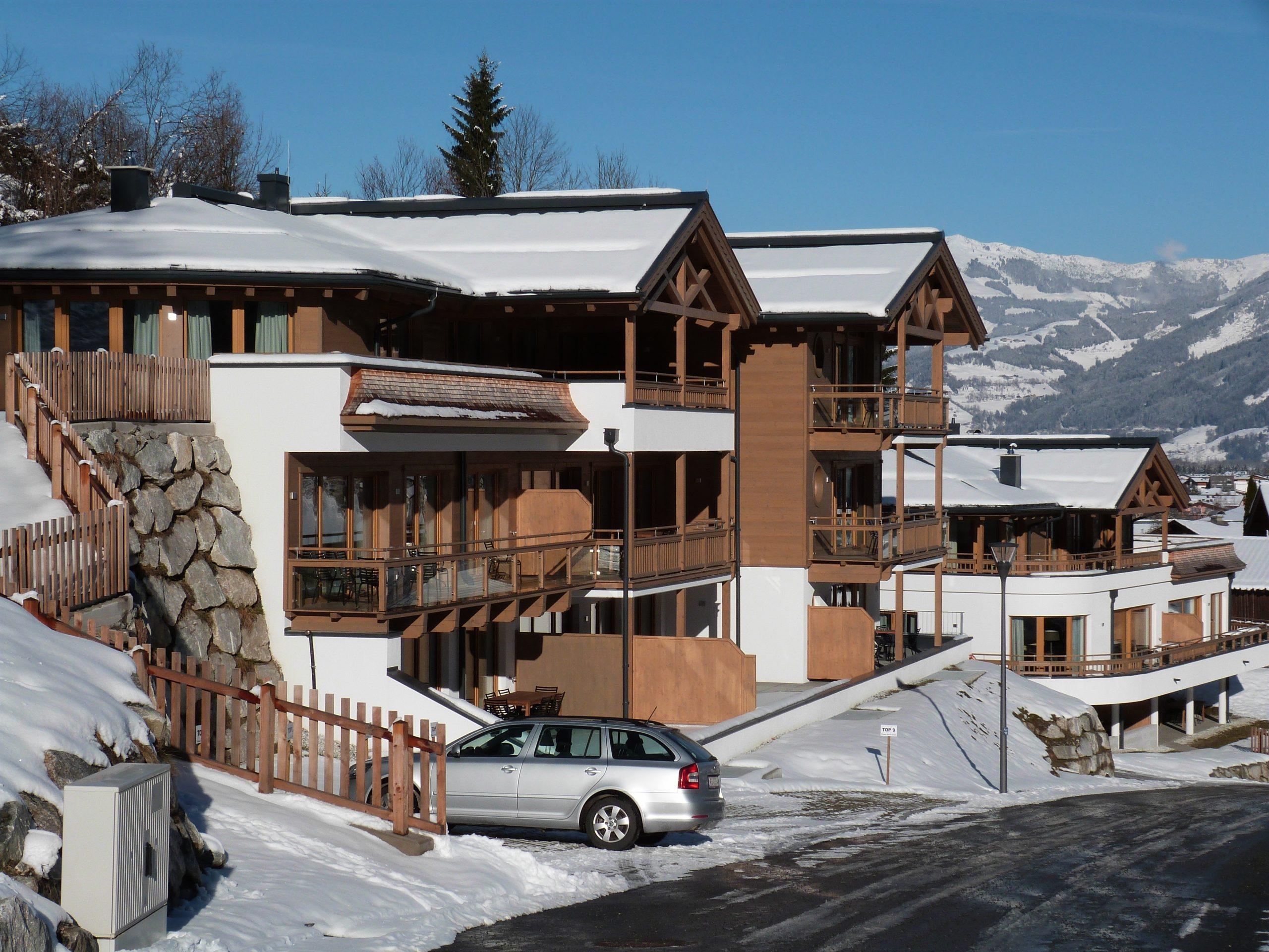 Appartement Kaprun Glacier Estate met sauna - 6 personen