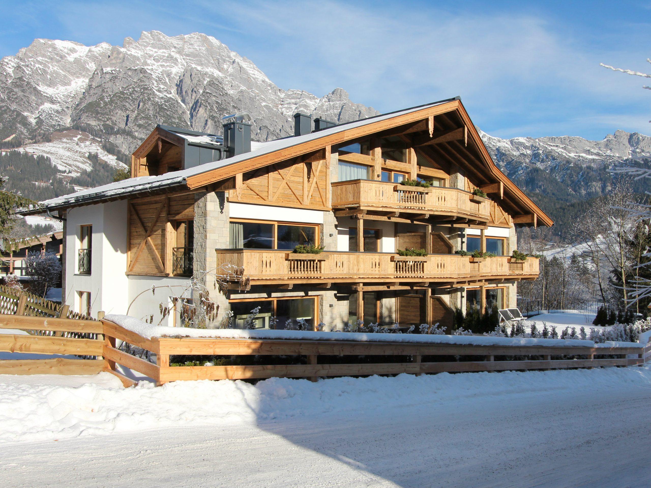 Chalet-appartement Alpin Lodge Leogang Lodge 3 - 6-8 personen