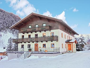 Chalet-appartement Berghof tweede verdieping - 4 personen