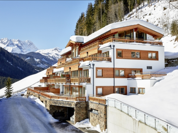 Appartement Gerlos Alpine Estate Type 3B met sauna - 6 personen