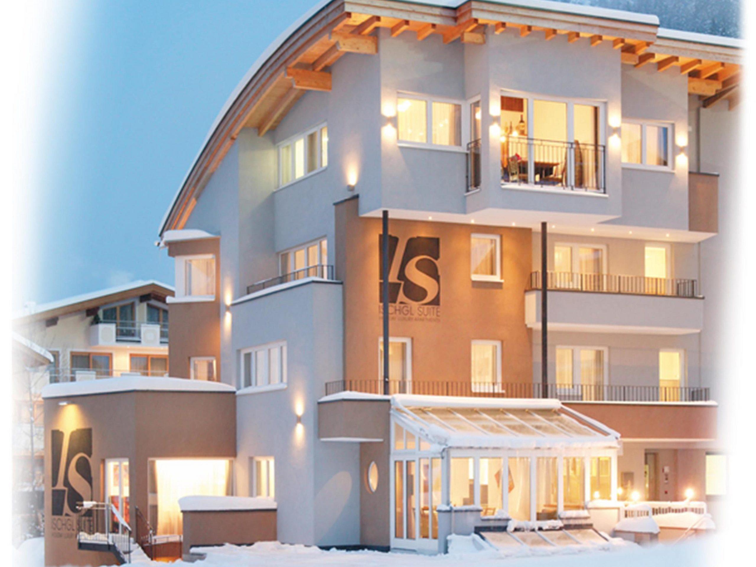 Chalet-appartement Ischgl Suite zondag t/m zondag Atrium - 4 personen