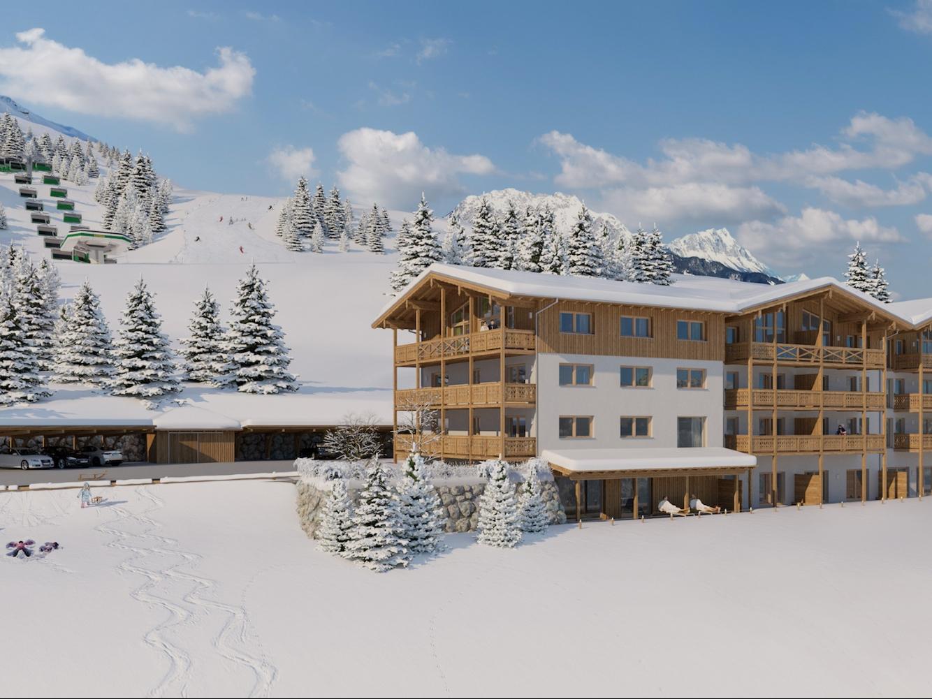 Appartement Skylodge Alpine Homes type I