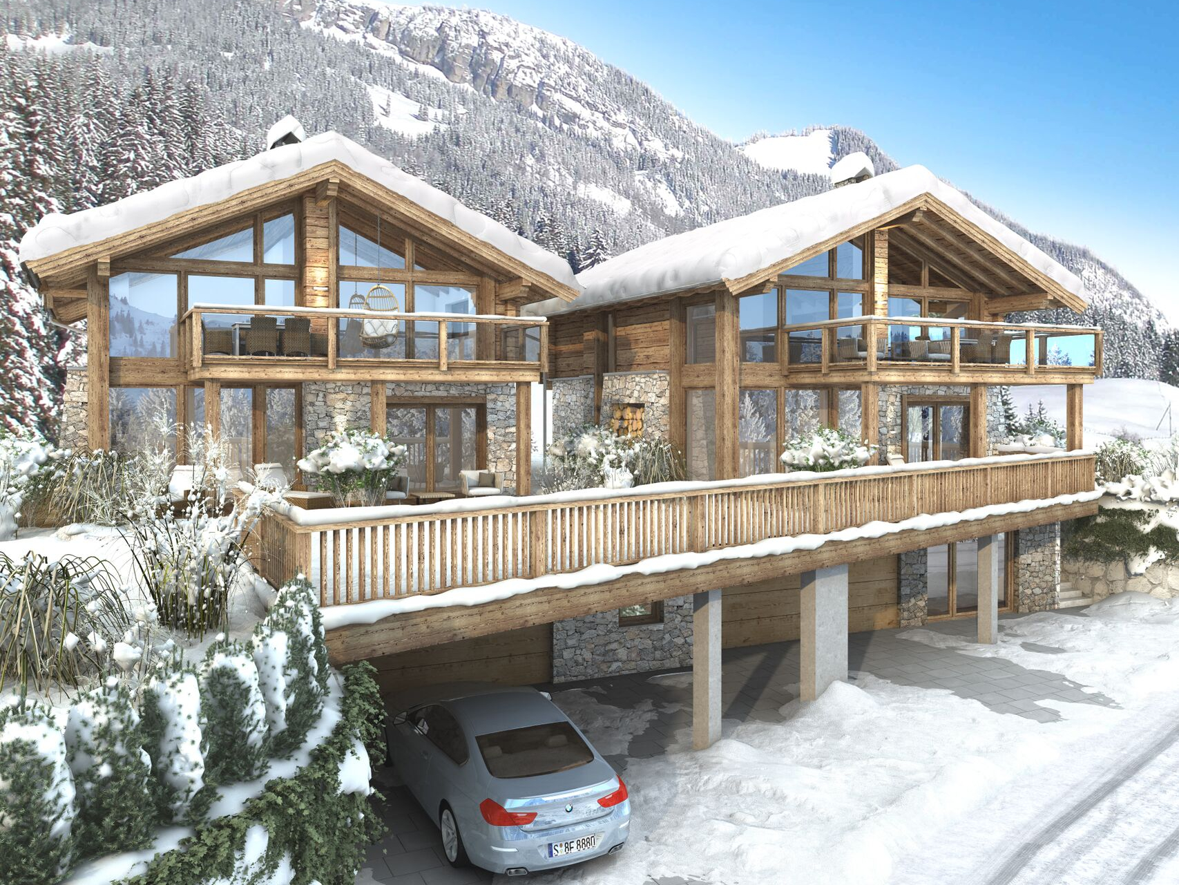 Chalet Ice Cool Residences Ice - 12 personen
