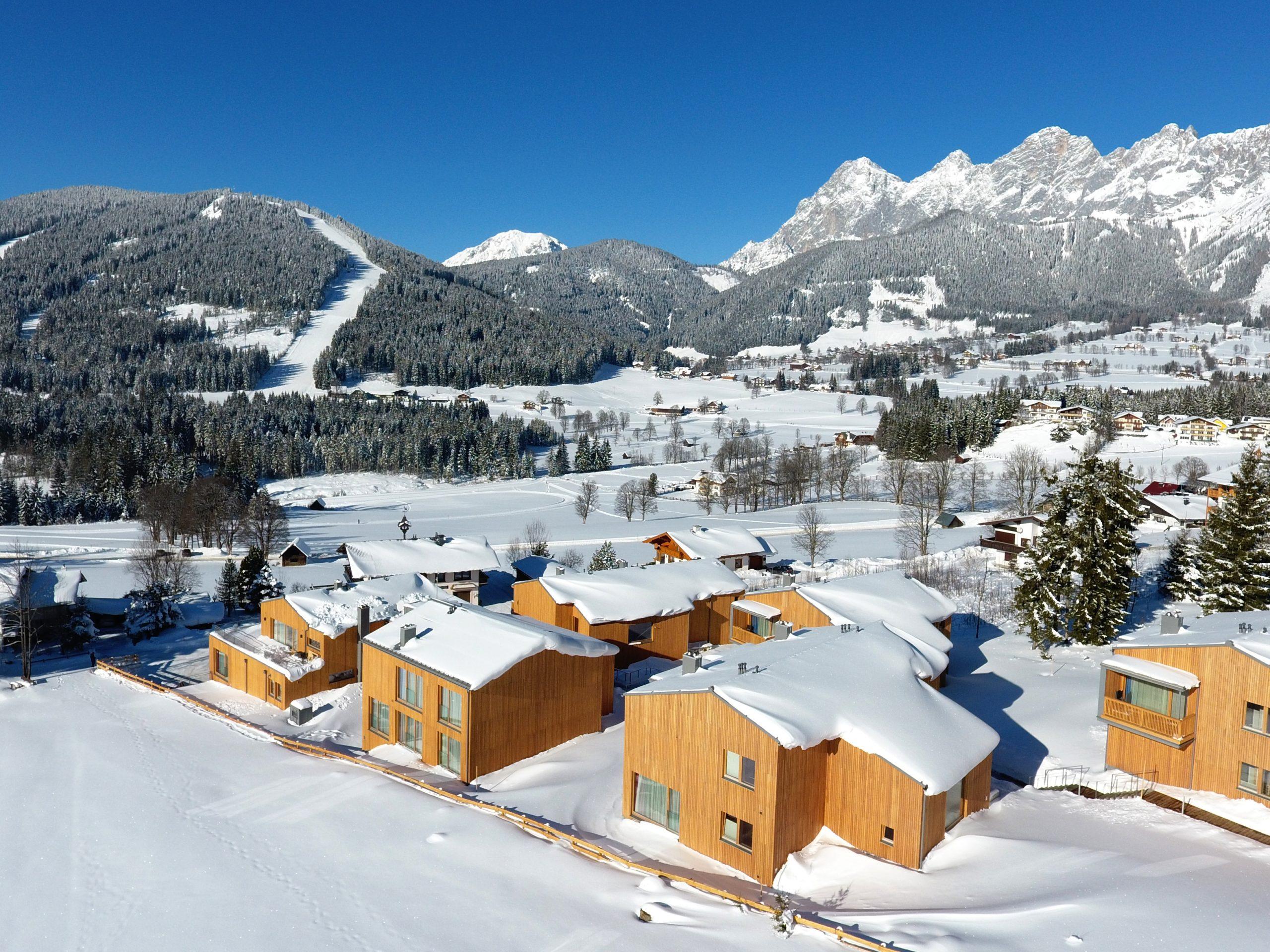 Chalet-appartement Rittis Alpin Familiensuite met sauna en open haard - 4-8 personen